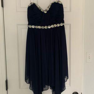 Dillard's mid-length formal dress